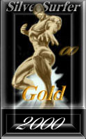 Silver Surfer Gold 2000